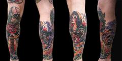 By Josh Damnit Classic Tattoo, Upland CA