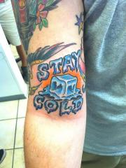 Ice Cube Tattoo