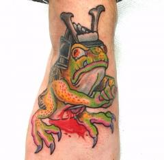 Tattoo by Lenny Sandvick