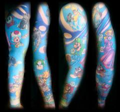 Super Mario Sleeve