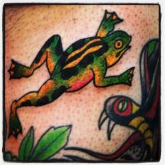 Sailor Jerry flash frog