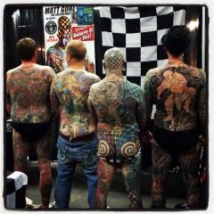 Tattoo Backpieces
