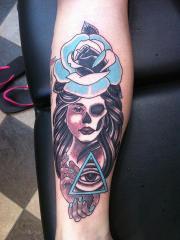 neo skull girl