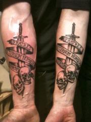 Three Brothers Military Tattoos