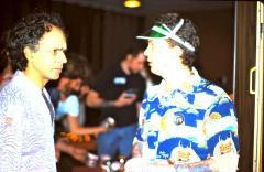 Ed Hardy and Tom deVita