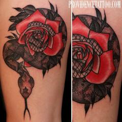 Snake and Rose