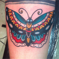 Uptown Tattoos Butterfly