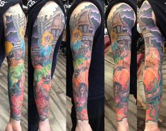Carlos Horror sleeve