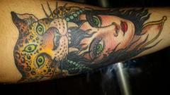 Girl head by Scott Sylvia