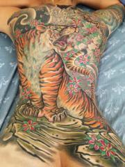 Tiger Backpiece