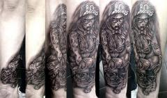 pin up robert tattoo art