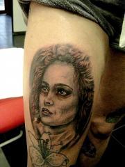 portrait ms lovet robert tattoo art