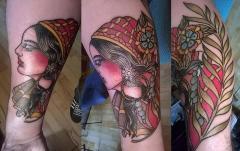 gipsy lady head