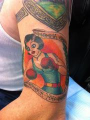 Boxer Girl 1