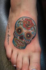 Dia De Los Muertos and Sugar Skull Tattoos