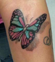 Butterfly (Forearm)