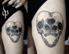 Conjoined skulls