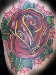 ROSE SKULL MORPH