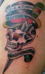 skull and dagger