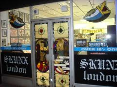Skunx Tattoo Shop Front