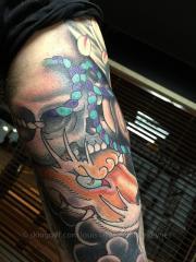 fox spirit tattoo