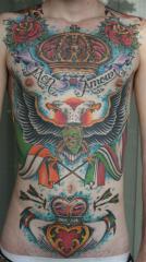 frontal tattoo