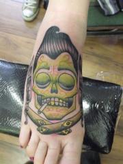sugar zombie skull