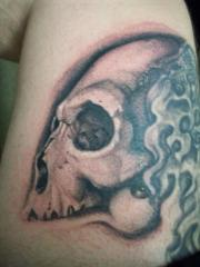 leg skull