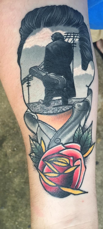 Greetings Initiation Last Sparrow Tattoo