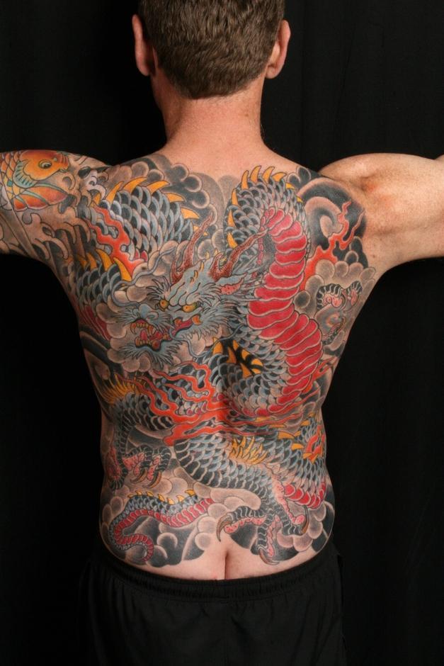 Dragon - back piece