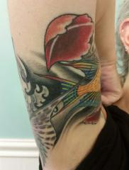 Fish 1/4 sleeve continuation