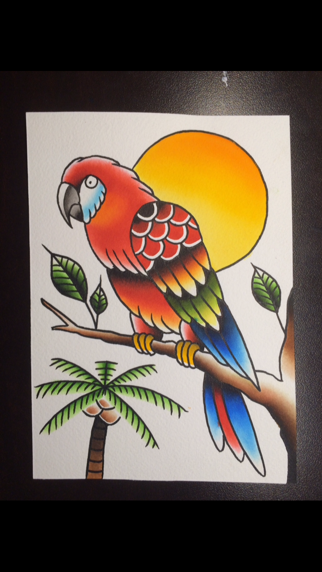 Traditional Parrot