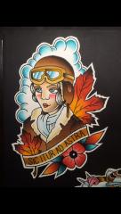 Lady Head Pilot