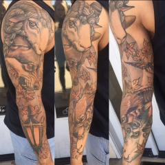 Completed Sleeve From Jeff Norton