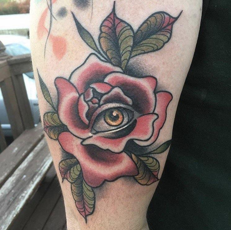 Rose and Eye