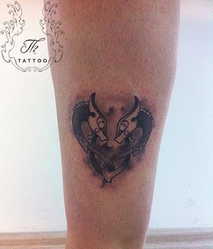 Symbol tattoo