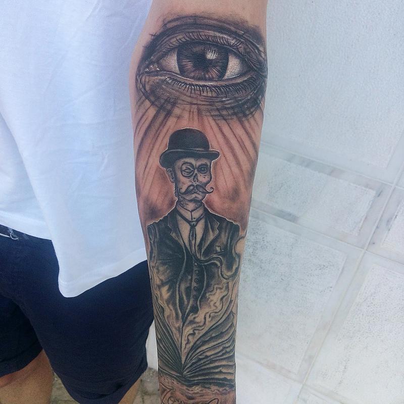 in progress sleeve