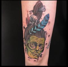 Shrunken Head by Dillon Eaves at Charnel House