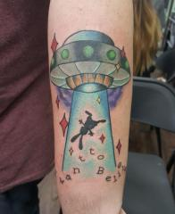 UFO Abduction by Ryan Carlson at Lefty's